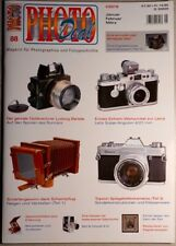 Photo deal photo deal fascículo 88 1/2015 sonnar Topcon Minox Bell Howell angulon dia