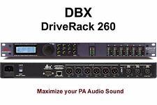 DBX DRIVERACK 260 PA Optimizer Feedback Elimination Processor