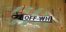 Off - White Bike Bag Strap Weight Securing System TM Will 5400 lbs ZIP Tie 2013