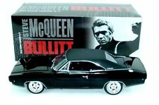 1968 BULLITT Charger BLACK Steve McQueen 1:18 GreenLight 12839