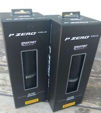 New Black Pirelli Pzero Velo 700x25c Road Bike Tire Set