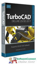 Imsi TurboCAD 2017 Deluxe Turbo CAD 2D 3D DESIGN DRAFTING & BASIC VIDEO TUTORIAL