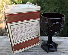 Avon The 1876 Cape Cod Collection Water Goblet ~ Ruby