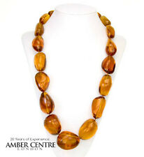Dominican Mexican Amber Bead Necklace Unique Item   - A0189 -  RRP£14250!!!
