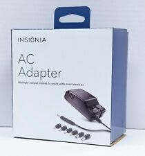 Insignia AC to DC Power Adapter with 7 Connector Tips NS-AC501 600mA max. output