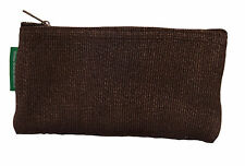 Brown Handmade Abaca Eyeglass Case (Soft Sided)