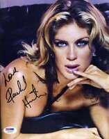RACHEL HUNTER PSA DNA Coa Hand Signed Authentic 8X10 Photo Autograph