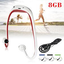 8GB Waterproof Running Walk Sport MP3 Player FM Radio Headphone Headset USB