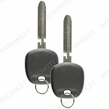 2 Replacement for Toyota 2004-2010 Sienna 2004-2008 Solara Remote Car Fob Key