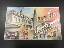 All About New Orleans 1983 Board Game