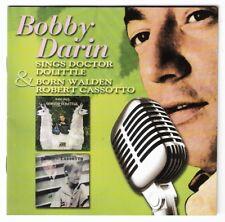 BOBBY DARIN Sings Doctor Dolittle +Born Walden Robert Cassotto CD 2007 doolittle