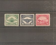 US STAMP 1923 AIRMAIL MH TIMBRE USA YT PA N°4/6 NEUF*
