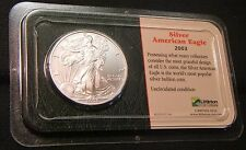 2003~~AMERICAN EAGLE SILVER DOLLAR~~MS-BU UNC~~BEAUTY~~LITTLETON SHOWPAC PACKAGE