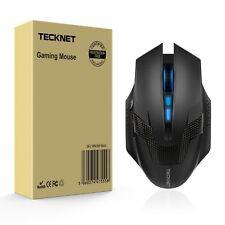 Best Wireless Gaming Optical Mouse TeckNet RAPTOR 4000DPI 2.4G Laptop Computer