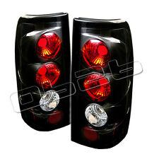 Chevy Silverado 1500 2500 99-02 GMC Sierra 1500 2500 3500 99-03 Black Euro Style