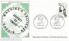 1985*FDC 1°JOUR!!*JOURNEE DU TIMBRE-L'OBLITERATION POSTALE **TIMBRE  Y/T 2362