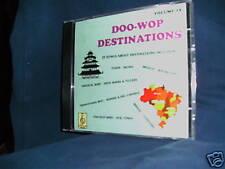 NEW Doo-Wop Destinations Vol #2 CD Admirations/Neons...