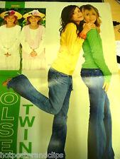 German POSTER Olsen Twins WOW Mega Sexy Sweet as Sugar in Blue Jeans