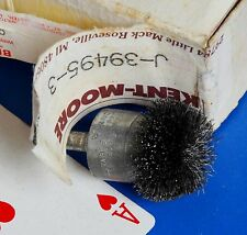 """Kent-Moore Anderson brush Circular Flared End NF-series NF12 wire wheel 1/4"""" NEW"""