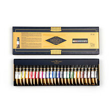 Mijello Mission Gold Class MWP-7024 Watercolors Artist Paint Tubes 24 Colors 7ml