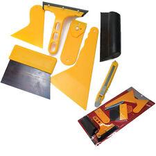 NEW 7pcs Car Auto Window Scraper Wrap Tint Vinyl Film Squeegee Cleaning Tool Kit