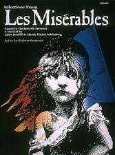 Les Miserables Instrumental Solos for Violin Instrumental Solo NEW 000849021