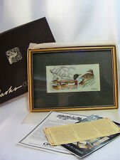 Cash's of Coventry Collectable Framed Embroidered Picture of Mallards