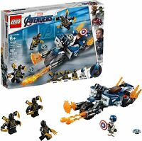 LEGO Captain America: Outriders Attack Super Heroes (76123)