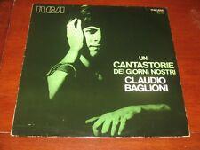 CLAUDIO BAGLIONI - UN CANTASTORIE DEI GIORNI NOSTRI  RCA PSL 10511  LP