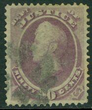 USA : 1873. Scott #O34 Used. Beautifully centered & Scarce. PSAG Cert. Cat $900.