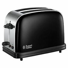 Russell Hobbs 23331 Colours Plus 2 Slice Toaster Black