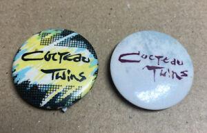 Cockteau Twins Pop rock Indie Badges 1980s Original Red Moon