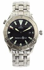OMEGA SEAMASTER  2533.50 LIMITED EDITION AMERICAS CUP BOND AUTO LARGE GOLD WATCH