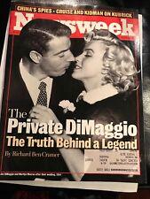 MAGIZINE NEWSWEEK 3/22/99 JFOE DIMAAGGIO/MARILYN MONROE {TRUTH BEHIND A LEGEND}
