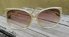 VTG 1970's BALENCIAGA OVERSIZE SQUARE SUNGLASSES 204 MADE IN FRANCE