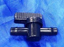 """PLASTIC INLINE barbed HOSE TAP ball valve 1"""" 25mm pond aquarium"""
