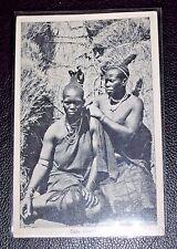 "Black Americana Photo Postcard ""Zulu Hairdresser"""
