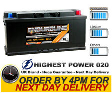 020 High Power I1 Enduroline Calcium Car Battery - More Power than AGM and EFB