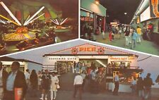 Old Orchard ME Amusement Park~Kiddie Car Rides~Woolf's Gift Shop~Multiview 1960s