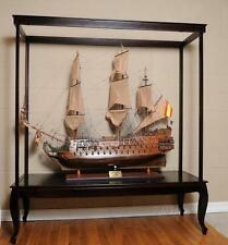 Display Case for Extra Large Ship Models (NO Glass) L: 65 W: 23 H: 75 Inches