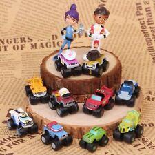 12 PCS Blaze And The Monster Machines Vehicle Action Figure Decoration Kids Toys