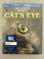 Cat's Eye Steelbook (Blu-ray/Digital, 1985) Factory Sealed