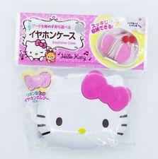 Sanrio Hello kitty Earphone Case ( w94mm x h79mm x d27mm) (I)