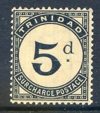 Trinidad 1885-6 Postage Dues 5d variety mint never hinged (2015/07/27 #06)