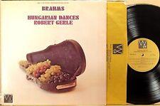 WESTMINSTER GOLD Brahms ROBERT GERLE Violin Hungarian Dances SHETLER WGS-8118