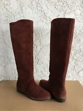 UGG Daley Mahogany Suede Equestrian Riding Knee High Tall Boot Size 9 Womens