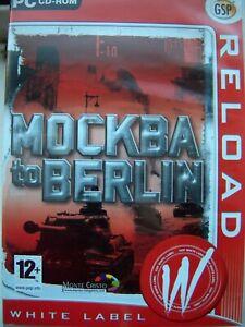 MOCKBA TO BERLIN--- WAR STRATEGY GAME---PC CD---BRAND NEW & SEALED