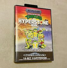 Turtles: The Hyperstone Heist | Sega Mega Drive | CIB | No Repro