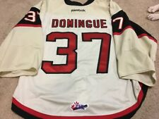 LOUIS DOMINGUE 11'12 Quebec Ramparts PHOTOMATCHED Game Worn Used Jersey COA