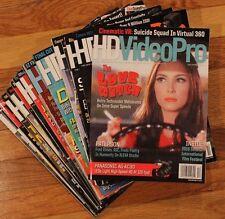Lot of (17) HD Video Pro Magazines   (Oct 2011- Jun 2014 , Apr-Dec 2016)